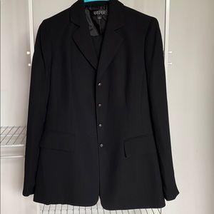 Black Kasper Full Suit Size 4